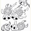 Finding Dory Coloring Wonderful Nemo to Color Best Finding Dory Finding Nemo Favor Bag