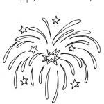 Fire Works Coloring Pages Best Of 4th July Fireworks Coloring Page Felszamolas