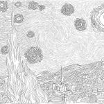 Fire Works Coloring Pages New Awesome Van Gogh Starry Night Coloring Pages – Kursknews