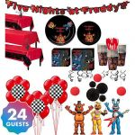 Five Nights at Freddy's Bonnie Pictures Unique 89 Five Nights at Freddys Birthday Invitation Template Size