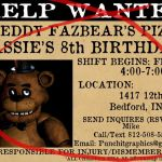 Five Nights at Freddy's Pictures Foxy Inspirational 92 Five Nights at Freddys Birthday Invitation Template Five