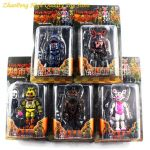 Five Nights Of Freddy Pictures Awesome 2019 Set Lightening Movable Joints Five Nights at Freddy S Action