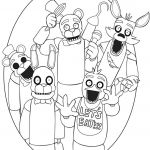 Five Nights Of Freddy Pictures Fresh Five Nights at Freddy Coloring Pages Unique Collection Golden