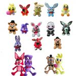 Five Nights Of Freddy Pictures Unique Five Nights at Freddy S 4 Plush Pendant Fnaf Foxy Chica Bonnie