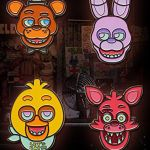 Five Nights Of Freddy Pictures Unique Five Nights at Freddy S Fnaf Face Pin Freddy Bonnie Chica and