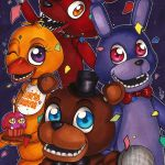 Five Nights Of Freddy Pictures Unique Five Nights at Freddy S Poster [1] by forunth Fnaf and Tf2