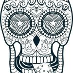 Flames Coloring Pages Awesome Unique Skulls with Flames Coloring Pages – Doiteasy