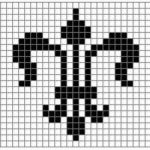 Fleur De Lis Coloring Page Best Of 6 Free Crochet Charts for Filet and Tapestry Crochet