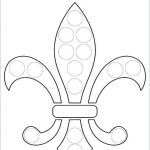 Fleur De Lis Coloring Page Fresh Mothers Day Hearts Coloring Pages – Iamdriverfo