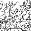 Flintstone Coloring Book Inspiration 47 Free Farm Scene Coloring Pages Zaffro Blog