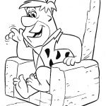 Flintstones Coloring Books New Printable Welma Flinstone Coloring Pages 2019 and Fred Sitting A