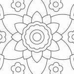 Flower Coloring Pages Pdf Amazing √ Benefits Mandala Coloring Adults or therapeutic Coloring Pages