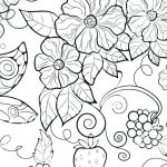 Flower Coloring Pages Pdf Brilliant Free Coloring Book Pages for Adults – Sharpball