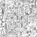 Flower Coloring Pages Pdf Elegant 475 Best Floral Coloring Pages for Adults Images In 2019