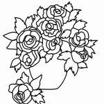 Flower Coloring Pages Pdf Inspiration Printable Coloring Pages Flowers and butterflies Collection