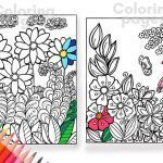 Flower Coloring Pages Pdf Inspired Coloring Pages Pdf Flower Coloring Pages Color Page Coloring Pages