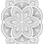 Flower Coloring Pages Pdf Inspiring Coloring Pages Flower Mandala – Coloring Pages Online