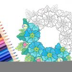 Flower Coloring Pages Pdf Pretty Printable Coloringeaster Activity Springcoloring Pages for