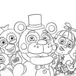 Fnaf Coloring Books Awesome Chica Coloring Pages Fnaf – Coloring Pages Online