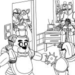 Fnaf Coloring Books Best Of Fnaf Coloring Pages All Characters – Coloring Pages Online