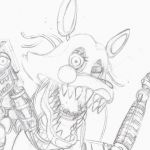 Fnaf Coloring Books New Mangle Coloring Pages Best Kids Coloring Page Simple Color Page