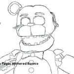 Fnaf Coloring Books Unique New withered Bonnie Coloring Pages – Tintuc247