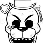 Fnaf Coloring Games Inspiring Freddy Coloring Pages Golden Sketch Coloring Page Birthday