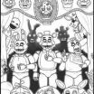 Fnaf Coloring Sheet Excellent 7 Best Coloring Pages Images In 2017