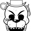 Fnaf Coloring Sheet Marvelous Freddy Coloring Pages Golden Sketch Coloring Page Birthday