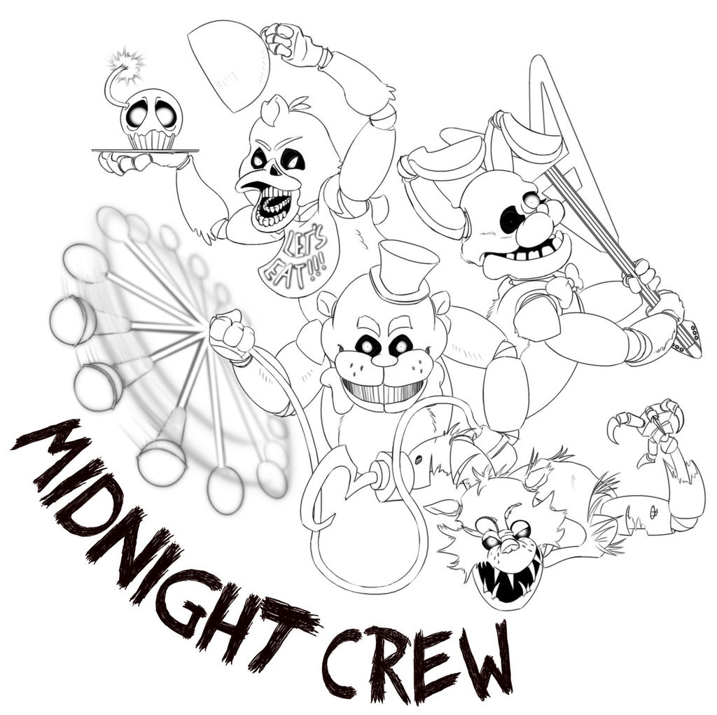 Fnaf Coloring Sheets Fresh Fnaf Coloring Pages All ...