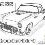Ford Truck Coloring Pages Amazing 79 Cool Classic Car Coloring Book