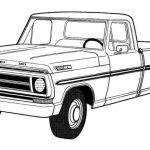 Ford Truck Coloring Pages Best Pickup Paintings Search Result at Paintingvalley
