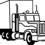 Ford Truck Coloring Pages Creative Semi Trailer Truck Coloring Pages