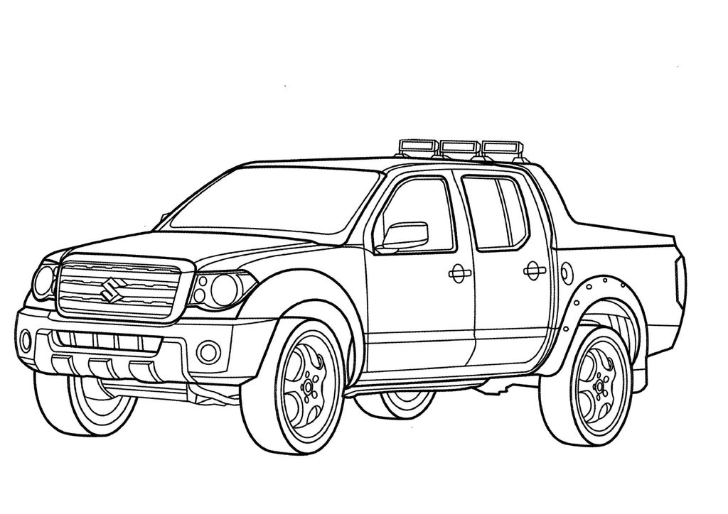 coloring Coloring Pages Free Fire Truck Printable To Print For