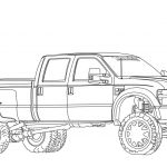Ford Truck Coloring Pages Pretty Coloring Page Monster Trucks Colorings Free Printable Truck for