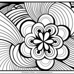 Free Adult Coloring Pages to Print Elegant Awesome Coloring Page for Adult Od Kids Simple Floral Heart with