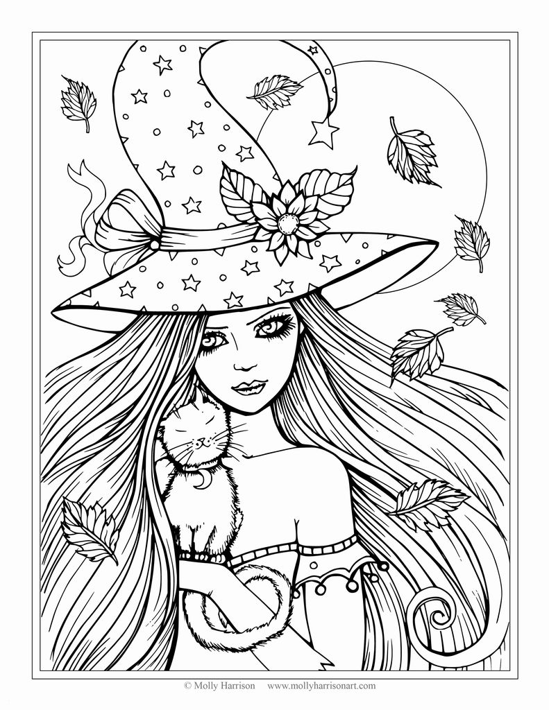 Beautiful Free Printables Coloring Pages for Adults