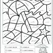 Free Color by Number Printables Inspiration Color by Number Math Worksheets Sheets Coloring Numbers K Pages for