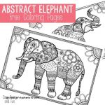 Free Color Pages Elegant Free Elephant Coloring Pages Awesome Elephants to Color Color Page