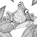 Free Coloring Pages for Adults Exclusive Arts Coloring Pages for Adults Remarkable Launching Frog Colouring