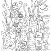 Free Coloring Pages for Adults Printable Hard to Color Inspired Free Coloring Book Pages for Adults