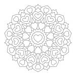 Free Coloring Pages Mandala Pretty Heart Mandala Coloring Pages Luxury Coloring Pages Coloring Pages