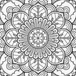 Free Coloring Pages Pdf Creative Free Coloring Pages Pdf format Mandala Coloring Pages Pdf Pleasing