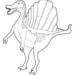 Free Dinosaur Coloring Pages Pretty Spinosaurus Coloring Pages Instructive Dinosaur Coloring Page 4 Kids