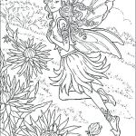 Free Fairy Color Pages Awesome Free Fairy Printables