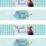 Free Frozen Printable Amazing Free Printable Frozen Labels is It for Parties is It Free is It
