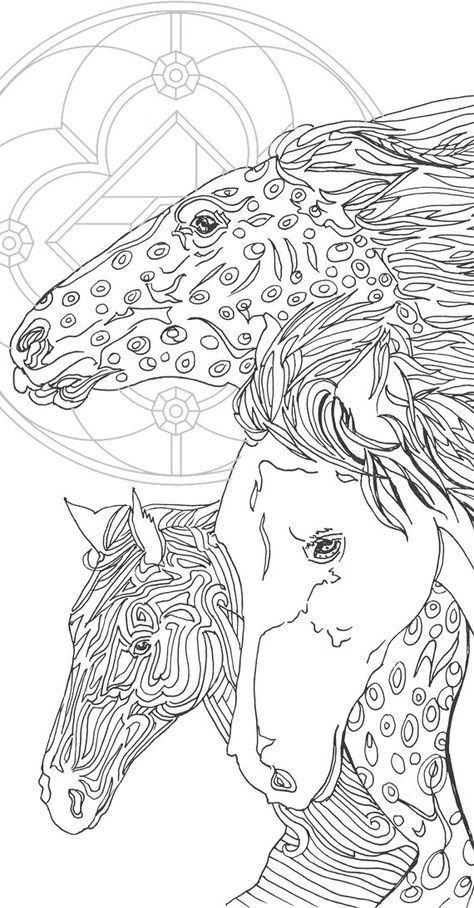 Free Horse Coloring Pages for Adults Inspirational Coloring Pages Printable Adult Coloring Book Horse by Valra