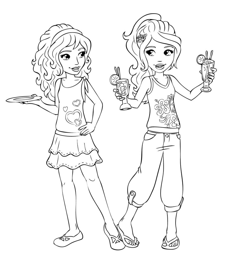 Lego Friends Coloring Pages Unique Free Printable Coloring Pages for
