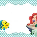 Free Little Mermaid Party Printables Amazing Printable Little Mermaid Invitation Card Mermaids