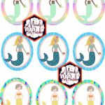 Free Little Mermaid Party Printables Creative Free Mermaid Birthday Party Printables